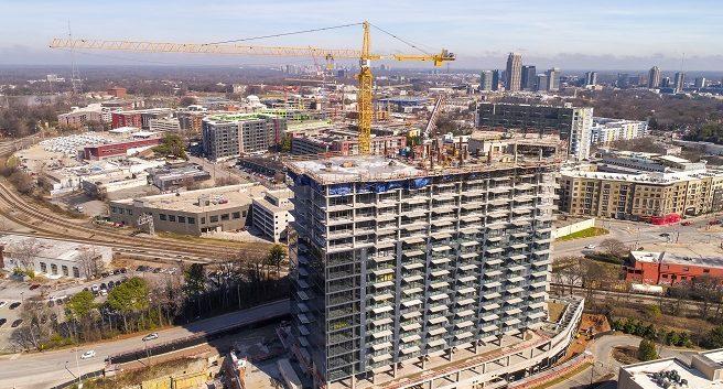 Seven88 West Midtown construction progress