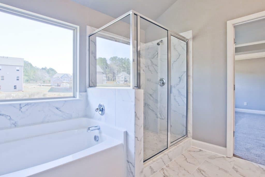 Castleberry Hills Master Bathroom