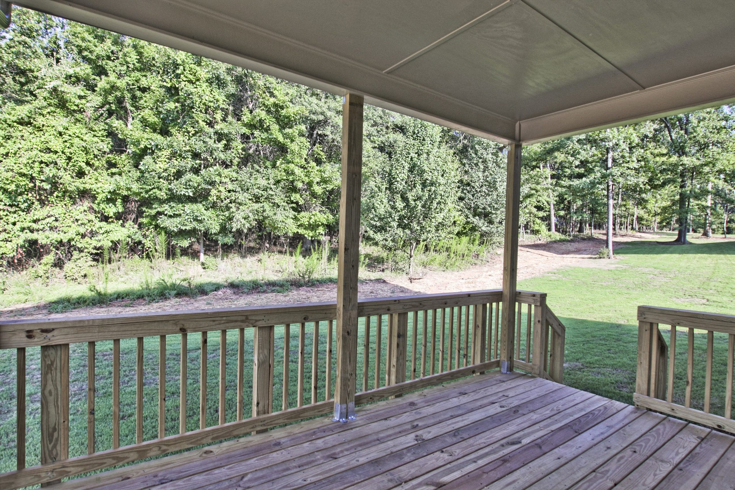 Covered Deck at Lake Rockwell