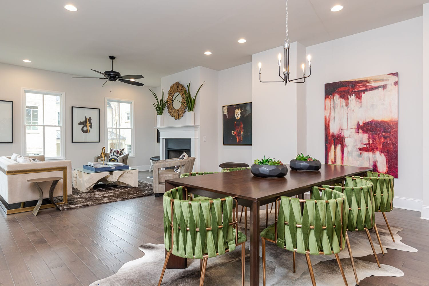 Final Six New Roswell Homes Remain at Oak Crossing