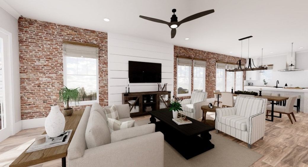 Concept photos of the Naples Plan offered at Villa Magnolia