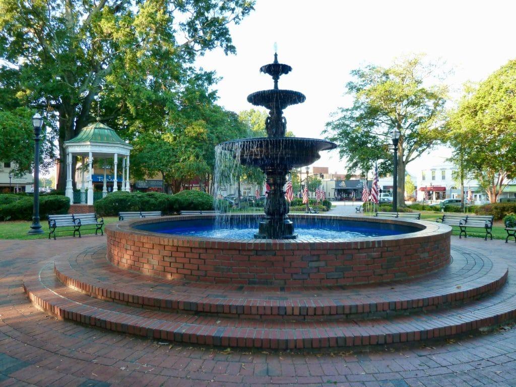 Marietta Square Fountain
