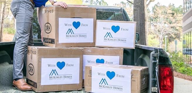 McKinley Homes Donates 10,500 Medical Masks to Hospitals