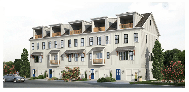 The Row on Wylie townhomes