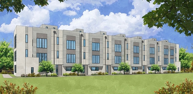 Construction to Continue on New Atlanta Townhomes at Plateau West