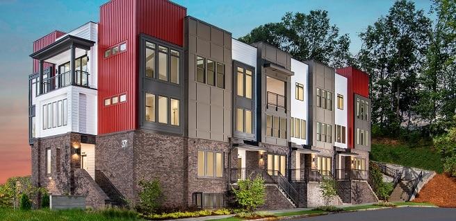 new Atlanta condominiums starting from the $390,000s