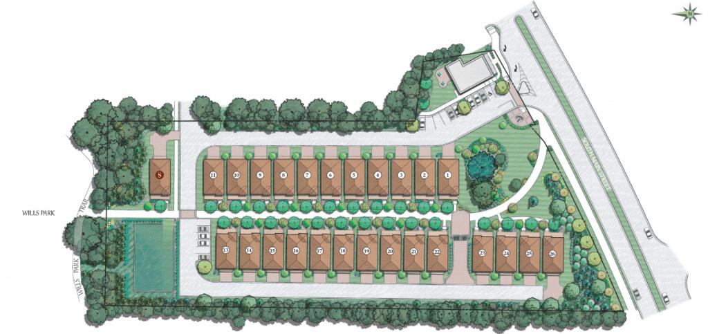 Villa magnolia community rendering