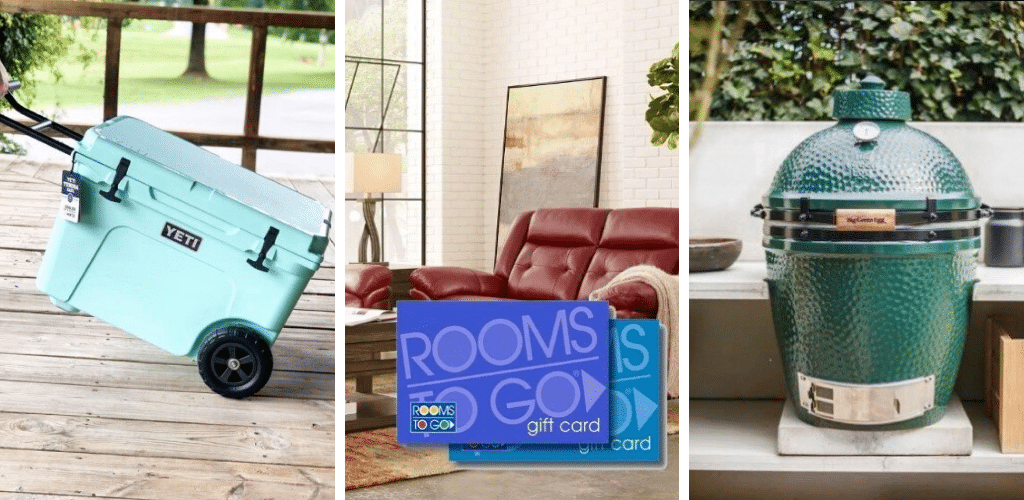 Heatherland Homes Giveaway Prizes