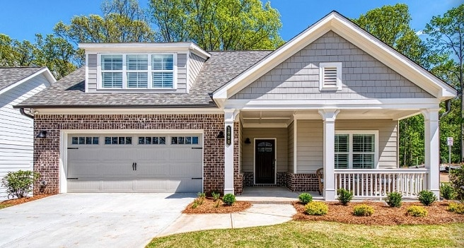West Cobb 55+ community model home