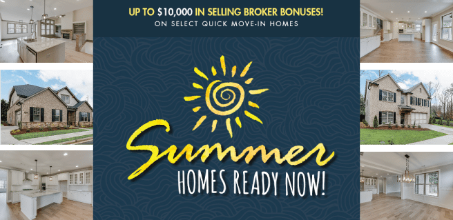 SR Homes Summer Sizzle $10K Broker Bonuses*