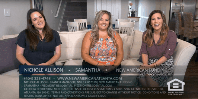 New American Funding Joins Atlanta's Best New Homes Show to discuss Reverse Mortgages and new active adult communities in metro Atlanta