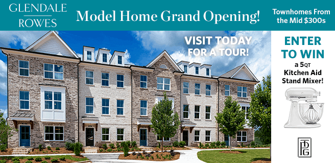 Visit New ITP Townhome Model, Enter to Win KitchenAid Stand Mixer*