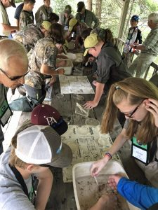 Trout Unlimited hands-on youth learning experience