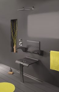 Innovato Swapable Shower Funiture Design by Intent
