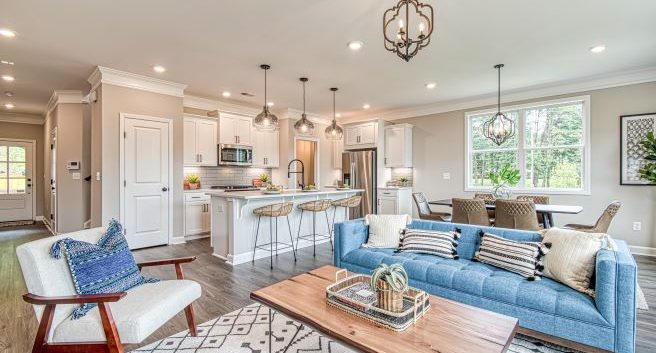 Edgemoore at Milford Decorated Model Homes in Cobb County