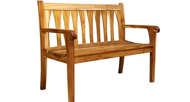 Tranquility Garden Bench by DecoTeak