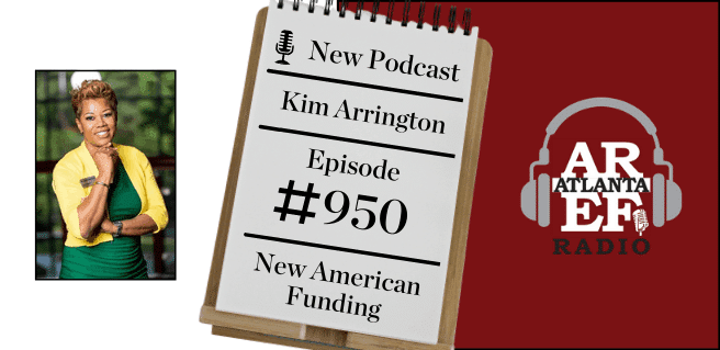 AREF Kim Arrington with New American Funding New American Dream Initiative