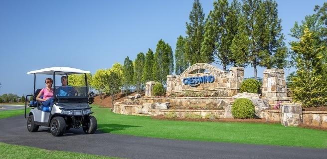 Cresswind Peachtree City Community Entrance