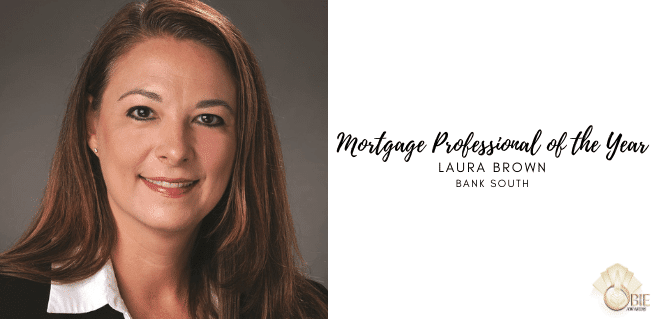 Laura Brown with BankSouth Named Mortgage Professional of the Year