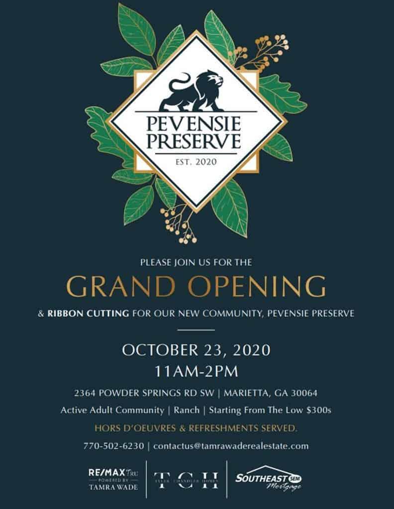 Pevensie Preserve Grand Opening