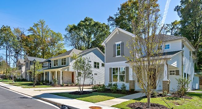 new homes at Pontiac Place in Decatur