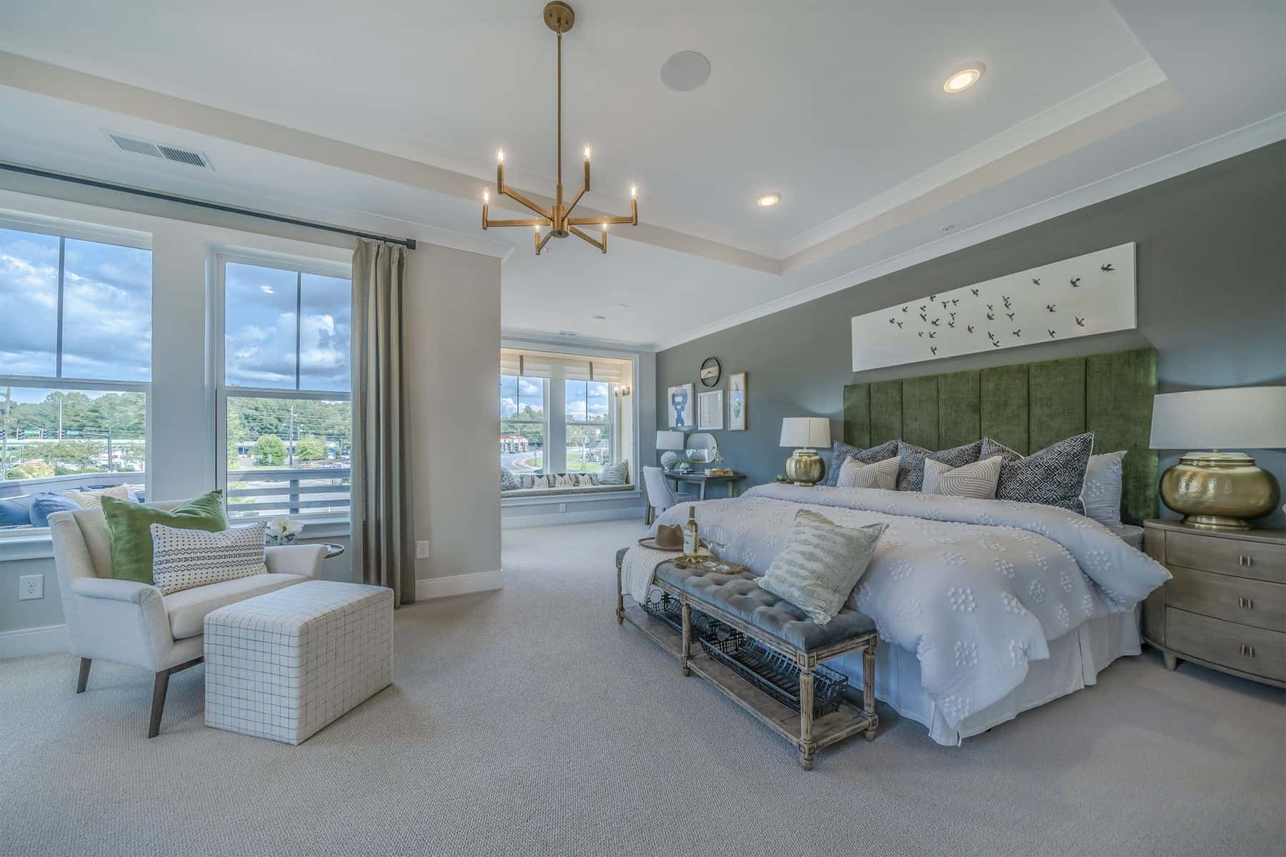 The Owners Retreat in the Model at David Weekley Homes Ellison Park in Sandy Springs