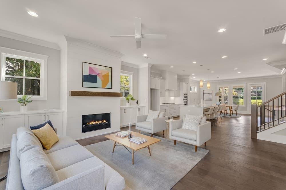 Adderley Interior Living Area
