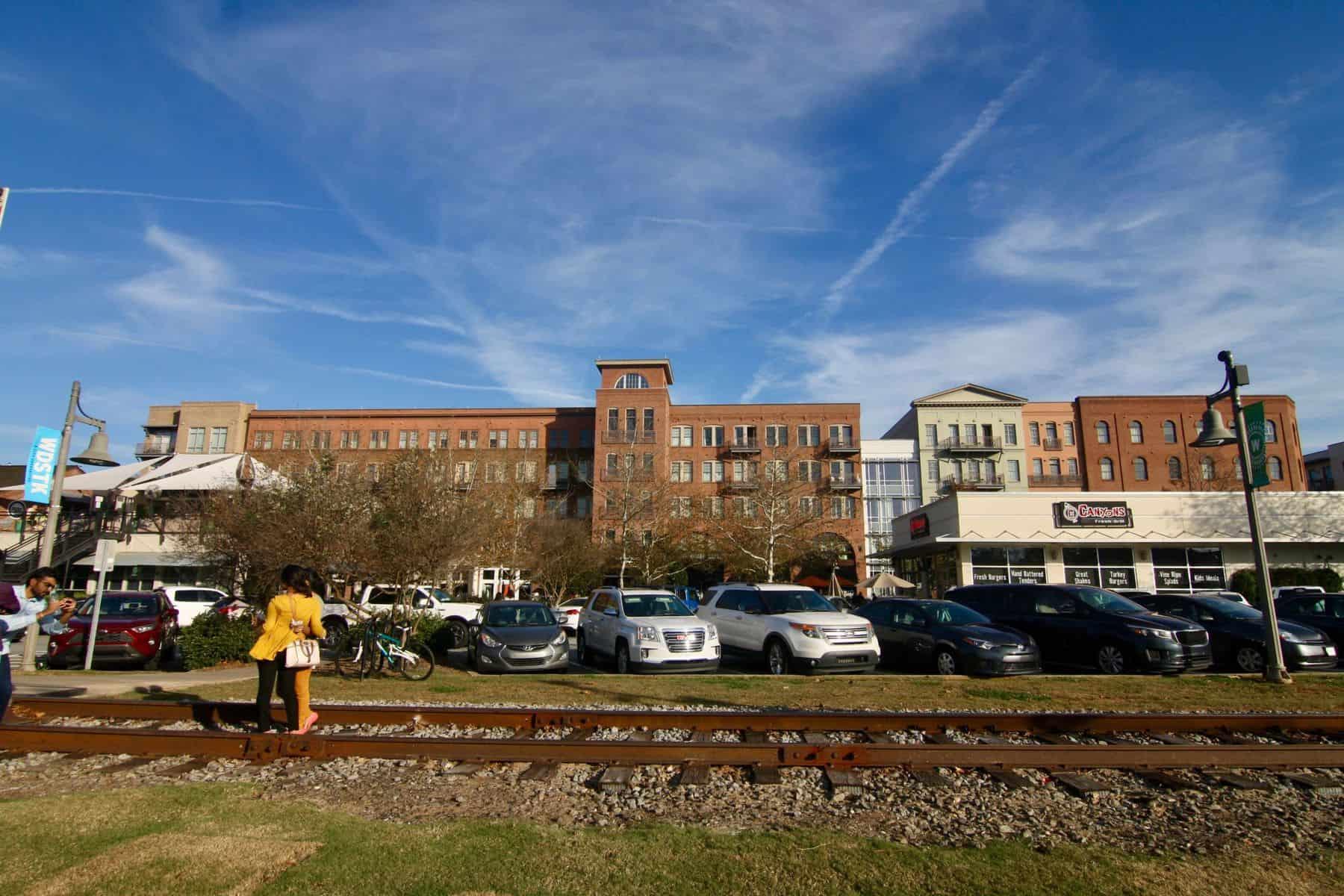 Downtown Woodstock Railroad
