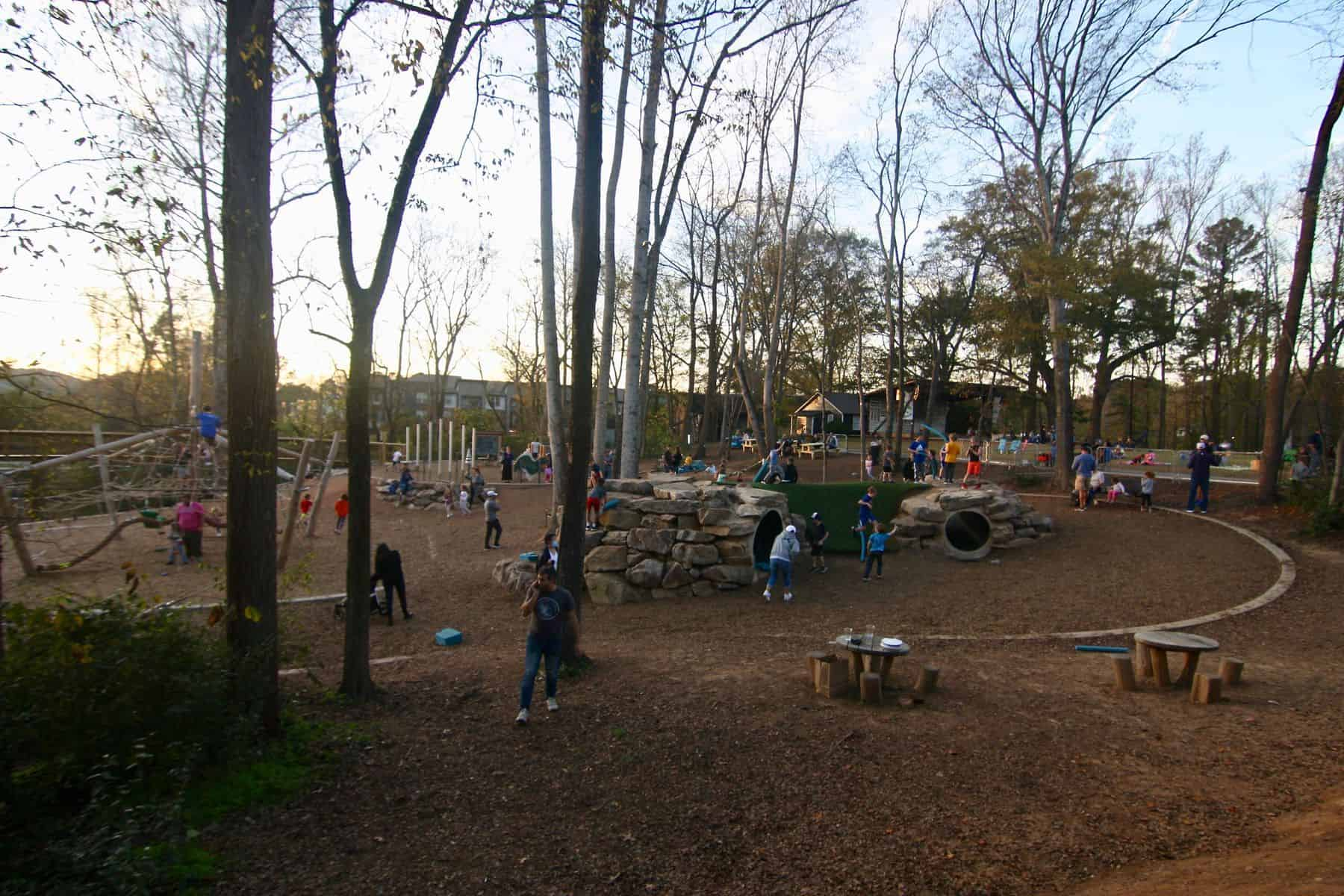 Woodstock Elm Street Playground and Stage