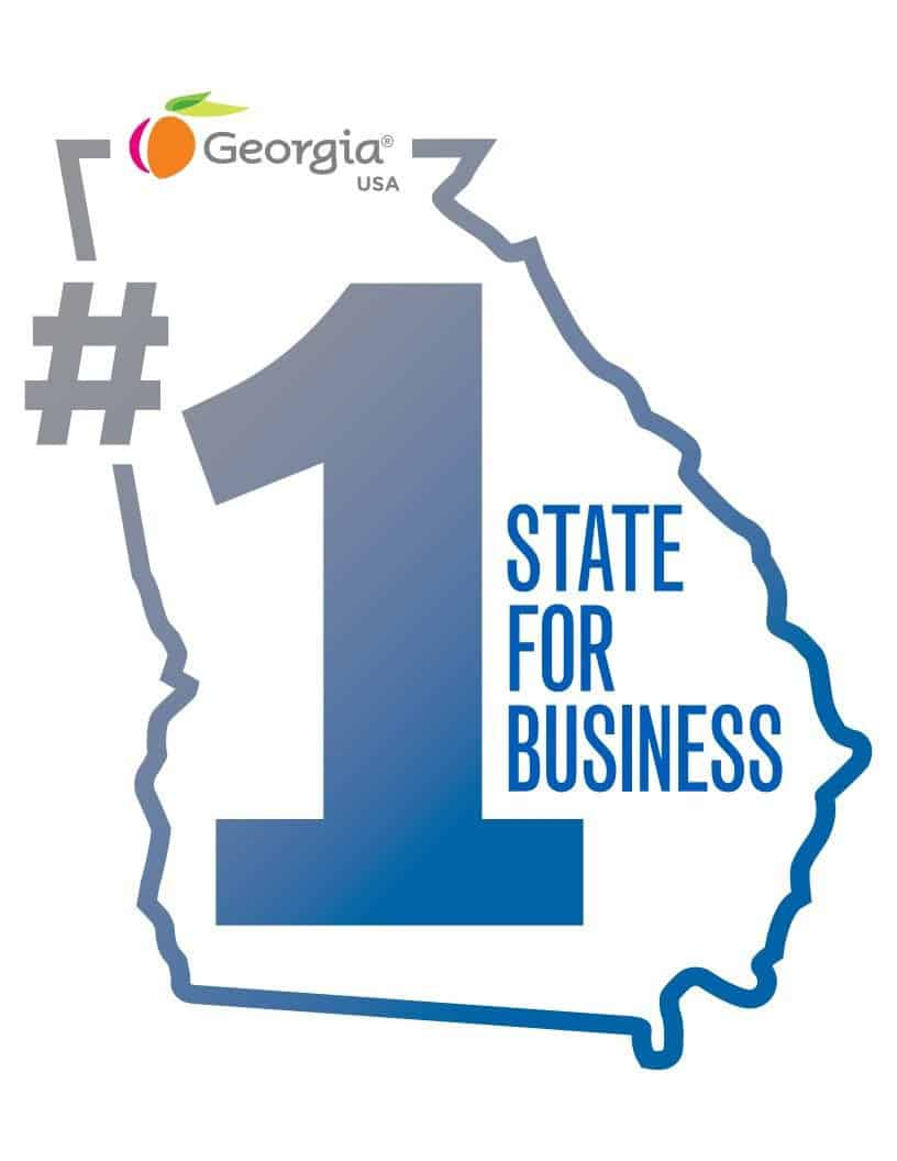 Georgia Ranked No. 1 State for Business for Eighth Consecutive Year