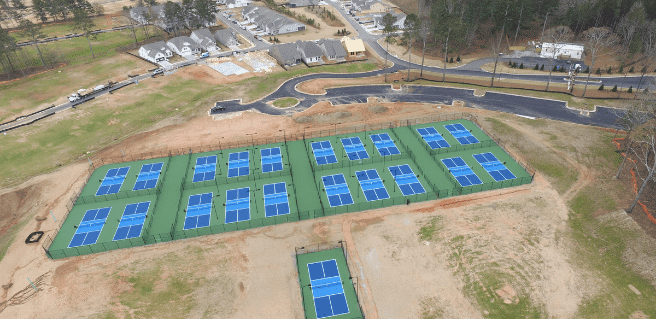 First Phase of Pickleball Center at Cresswind Georgia at Twin Lakes Nears Completion