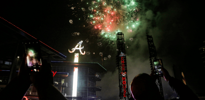 Ring in the New Year at The Battery Atlanta