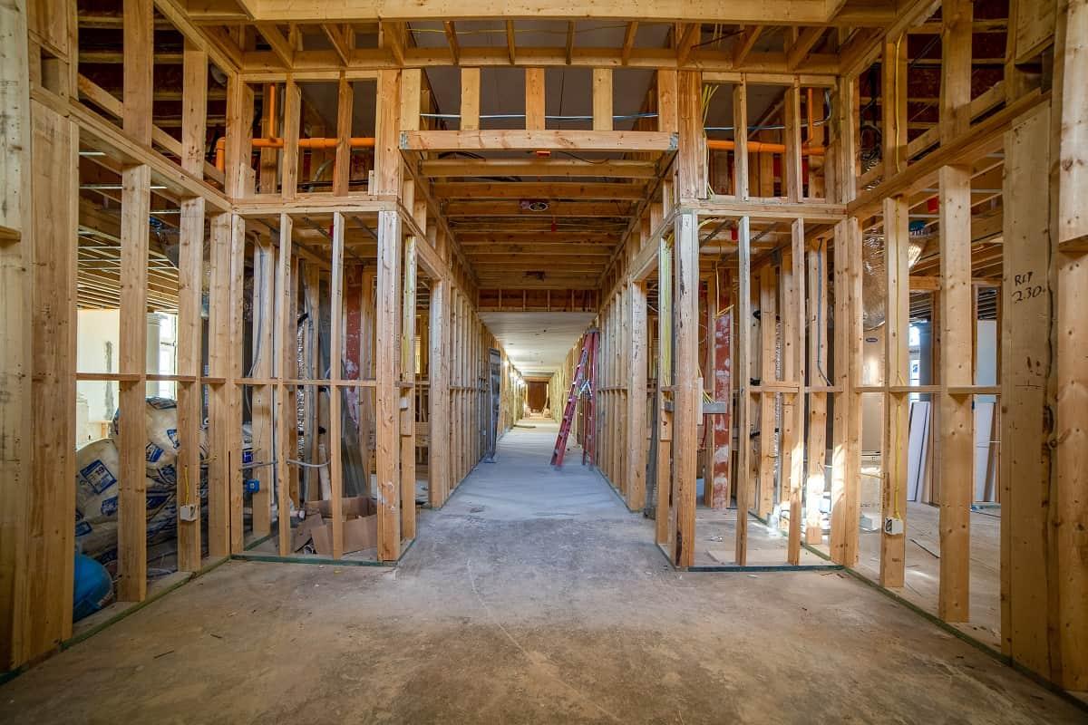 1200 Ponce interior construction progress