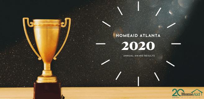 2020 HomeAid Atlanta Award Winners