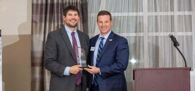 Corey Deal Receives Presidential Award