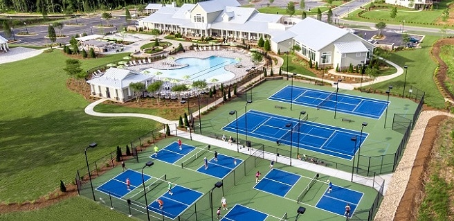 Cresswind Peachtree City Amenities Drone View
