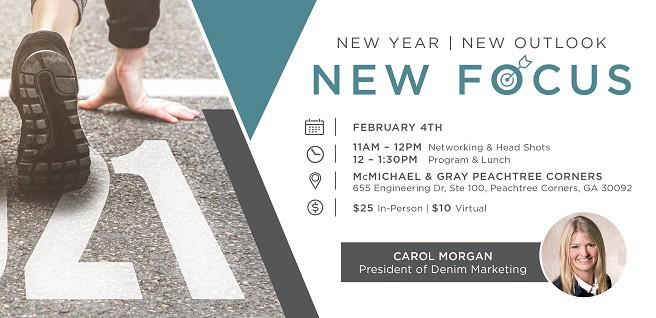 Atlanta SMC to Host Virtual, In-Person Meeting with Carol Morgan