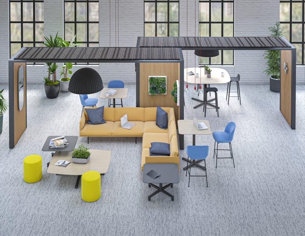 Flexible Workspace Lounge Area