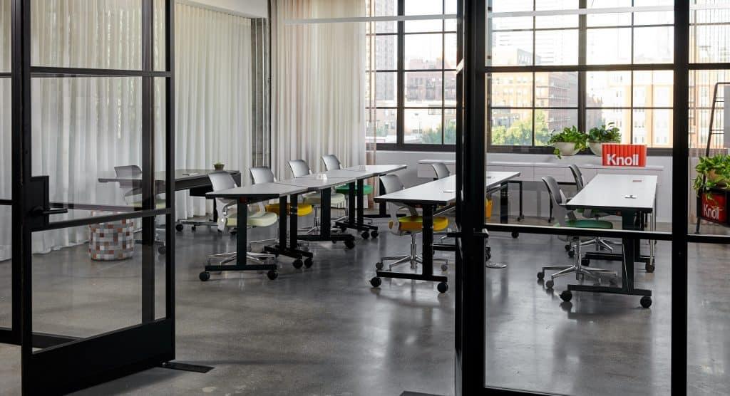 Media Room and Desk