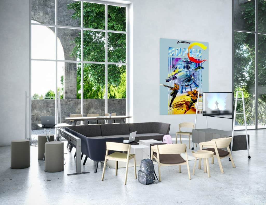 Flexible Workspace Sitting Area