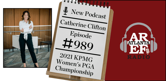 Catherine Clifton with 2021 KPMG Women's PGA Championship
