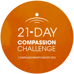 21-Day Compassion Challenge logo