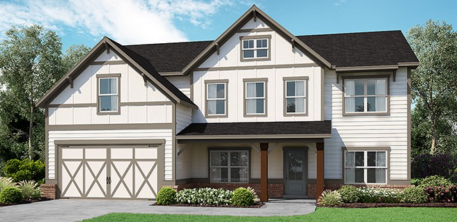 Chimney Creek Now Selling Front Exterior Rendering
