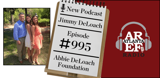 Jimmy DeLoach with Abbie DeLoach Foundation