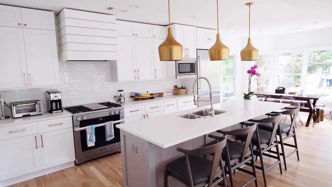 Modern Interior Home Renovation Kitchen