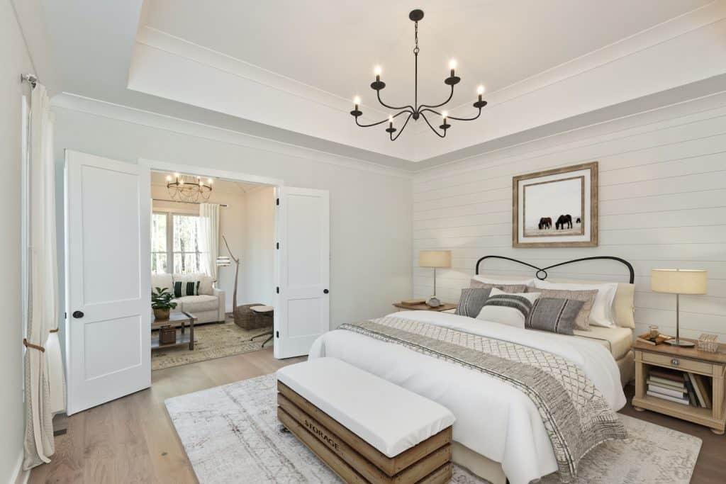 Ward Mills Farm Master Bedroom