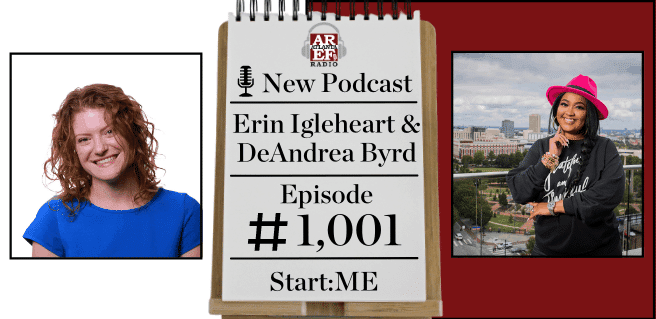 Erin Igleheart and DeAndrea Byrd with Start_ME