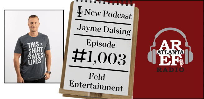 Jayme Dalsing with Feld Entertainment
