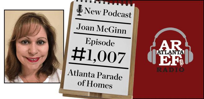 Joan McGinn with Atlanta Parade of Homes