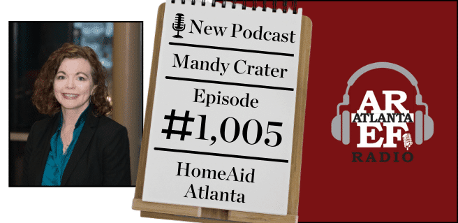 Mandy Crater with HomeAid Atlanta Essential Drive